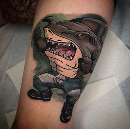 Tattoos - Al Perez Street Sharks - 139864